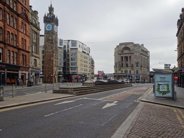 Glasgow Cross railway station (site)