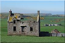 NJ8565 : Pennan Farm House by Anne Burgess