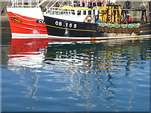 NM6797 : Fishing boats in Mallaig Harbour by Rod Allday