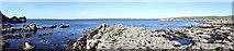 NJ8865 : Rocky 'Panorama' by Anne Burgess