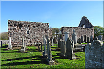 NJ8864 : St Drostan's Kirk by Anne Burgess