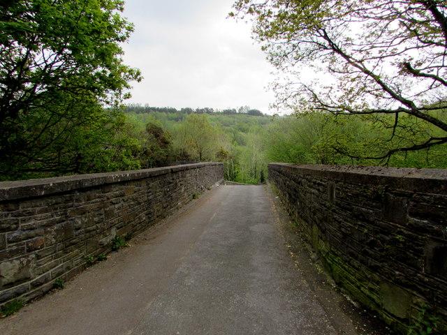 Across Angel Lane bridge, Gilfach