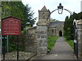 ST3241 : Entrance to St Michael's church by Neil Owen