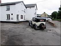 SO3204 : 1931 Ford in Penperlleni by Jaggery