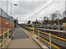 SD8402 : Metrolink Construction at Crumpsall, January 2019 by Gerald England