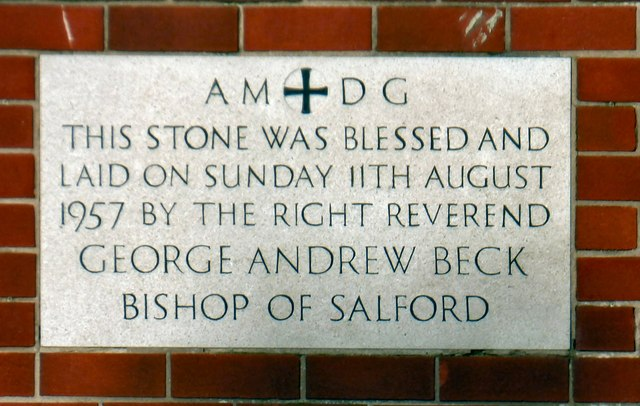 St Clare's foundation stone