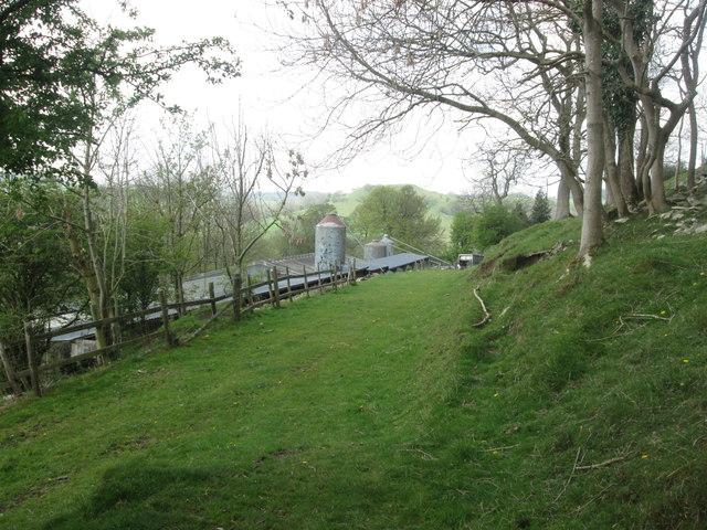Approaching Monksdale Farm, Miller's Dale