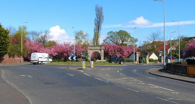 Entrance to Letham Glen