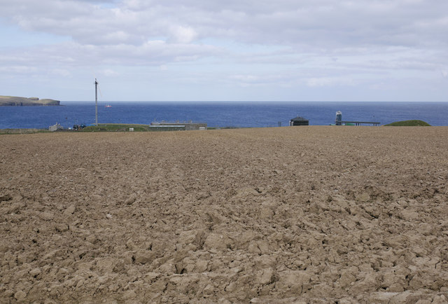 View to Thurso Waste Water Treatment Works