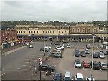 SX9193 : Exeter St David's railway station by Andrew Abbott