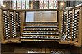 SE5703 : Organ Console, Doncaster Minster by Julian P Guffogg