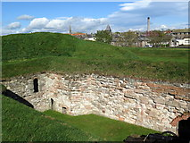 NT9953 : Cumberland Bastion, Berwick upon Tweed by Andrew Curtis
