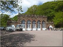 SJ5728 : Hawkstone Park - entrance by Chris Allen