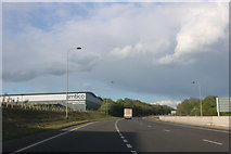 SP3675 : Coventry Eastern Bypass, Tollbar End by David Howard