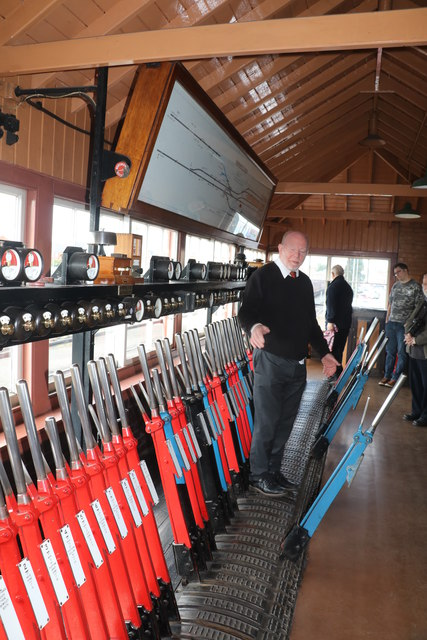 Severn Valley Railway - Kidderminster Signal Box