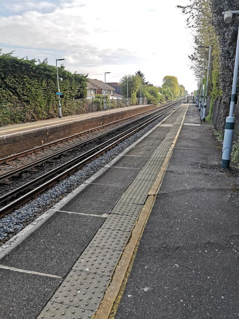Railway Tracks at Pevensey and Westham Station