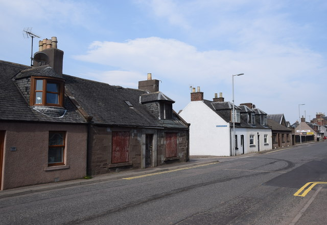 Cottages, Laurencekirk High Street