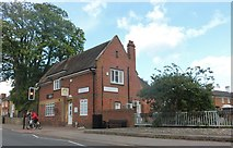 SP6948 : Bridge Dental on Watling Street, Towcester by David Howard
