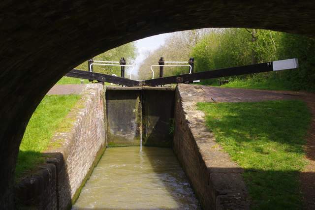 Claydon Bottom Lock, Oxford Canal