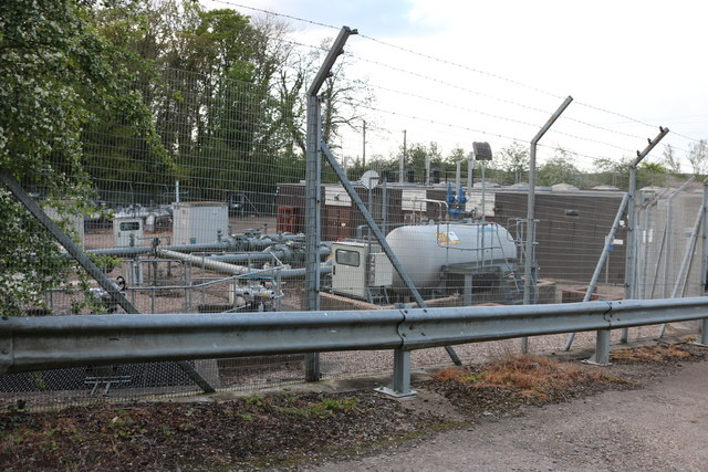 Rugby gas depot