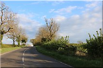 SP5572 : Rugby Road near Kilsby by David Howard