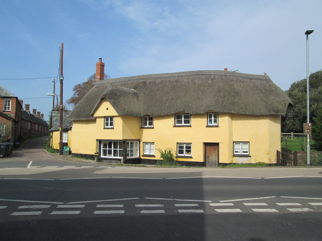 Thatched house by Church Lane, Broadclyst