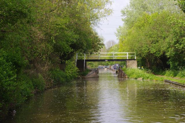 Marsh Footbridge, Oxford Canal