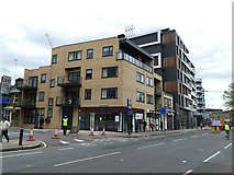 TQ3978 : New building on the corner of Calvert Road by Stephen Craven