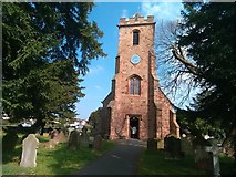 SJ3464 : St. Mary's, Broughton by Garry Lavender-Rimmer
