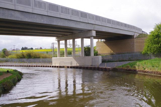 A45 bridge, Grand Union Canal