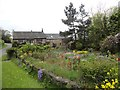 NZ0954 : Garden at West Law by Robert Graham