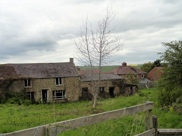 Old farm at East Law