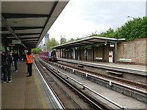 TQ3778 : Mudchute DLR station by Stephen Craven