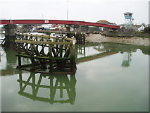 TQ0202 : Littlehampton Retractable Bridge by Chris Andrews