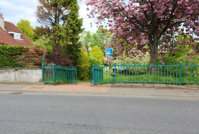 Path to Letham Glen