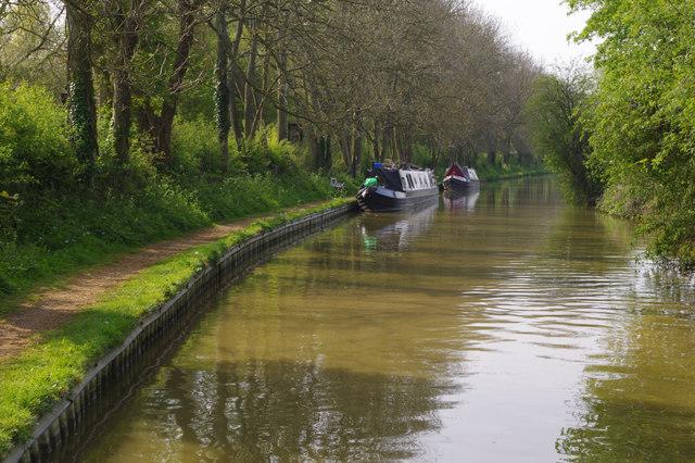 Oxford Canal south of Broadmoor Bridge