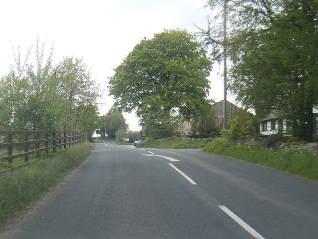 B6254 near Red Well Inn