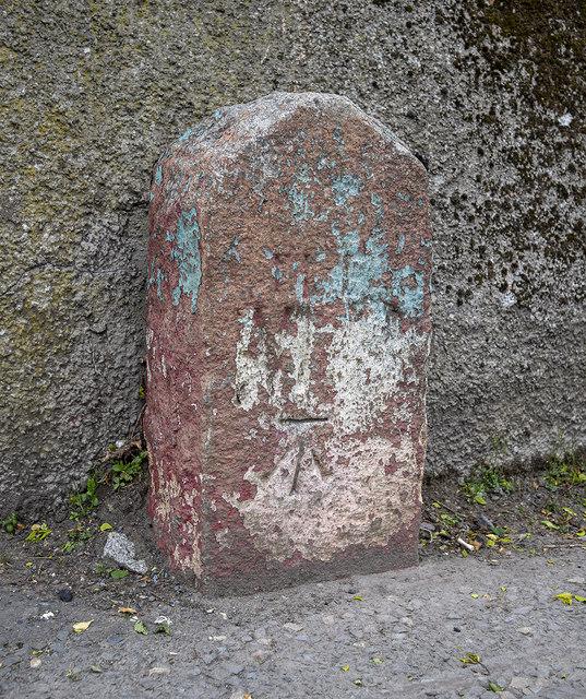 Boundary Stone and Bench Mark, Newry
