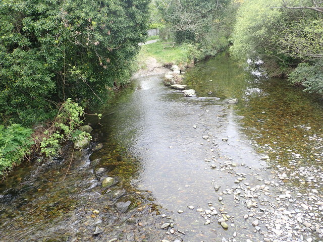 Disused fording point on the Shimna