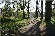 SP2865 : Path from Priory Park by Bill Boaden