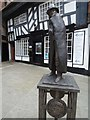 SO8554 : Statue of Charles II by Philip Halling