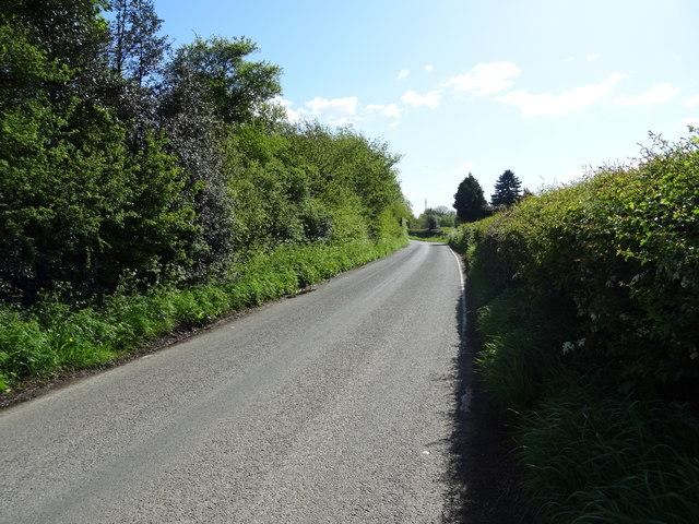 Borras Road near Moss Bank