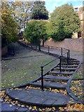 SK5639 : Park Steps by Andrew Abbott