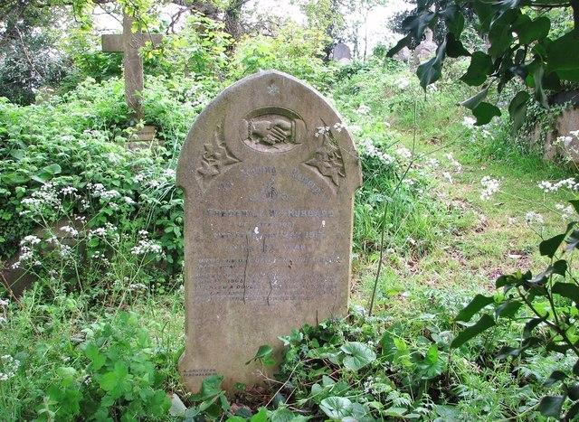 The grave of Frederick William Hubbard