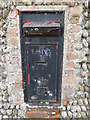 TM4878 : Disused Postbox on the B1126 Wangford Road by Adrian Cable