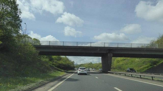 A772 crossing A720 City of Edinburgh Bypass