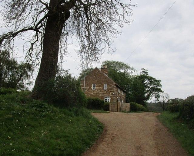 Cottages on Back Lane, Harston