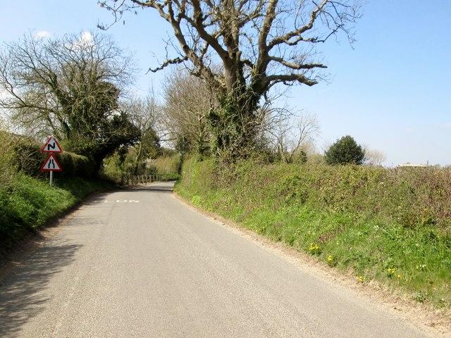 The  Street. Baconsthorpe  heading west
