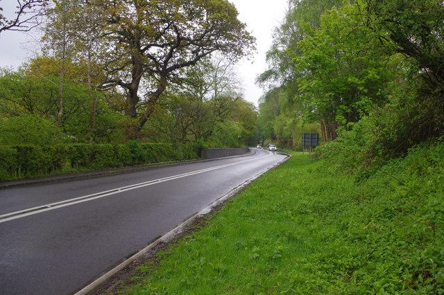 A5 east of Llidiart-y-Parc