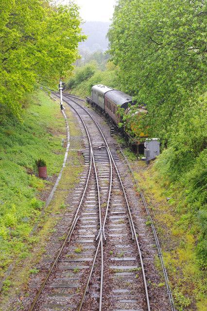 Llangollen Railway west of Carrog